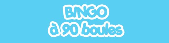 Bingo à 90 boules